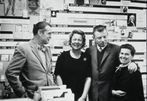Charles and Ray Eames with