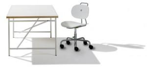 Eiermann chldren's desk and Turtle chair