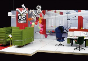 """The colourful future of """"Net 'n' Nesting"""" (Photo: http://www.vitra.com)"""