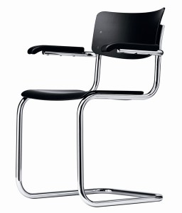 S 43F Classic by Mart Stam through Thonet. A classic of Bauhaus design.