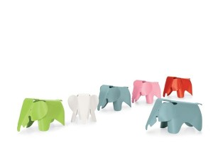 Eames Elephant children's stool from Vitra