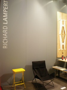 In out by Eric Degenhardt and sidetable Flip by Alexander Seifried both for Richard ampert