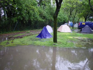 Camping in Milan can be recommended - just avoid the pitch in bottom left of the site.