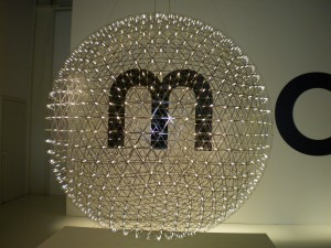 LED Raimond Hanging Lamp (here just the large version) by Raimond Puts for moooi