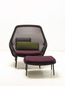 Slow Chair by Ronan and Erwan Bouroullec for Vitra