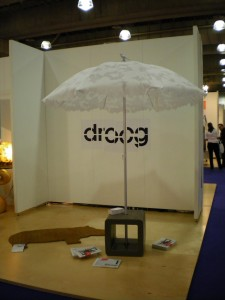 droog doing it right - turn up, set up, go home....