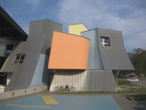 The Vitra HQ in Basel, designed by Frank Gehry