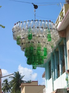 PET Chandalier in Pondicherry, India. Photo: Jasper Morrison