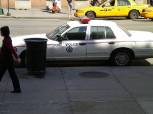 The NYC Post Police - tailed our every move and word