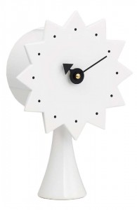 George Nelson Ceramic Clock Modell 2
