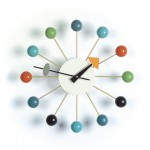 George Nelson Ball Clock from Vitra
