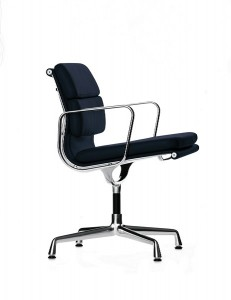 The EA 207 from Charles and Ray Eames new soft Pad range through Vitra