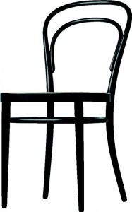 214 from Thonet - Innovative Germa design that would not have been exhibited at IMM