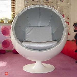 Ball chair by Eero Aarnio - fake