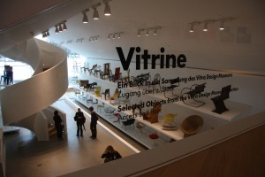 "Vitrahaus. Vitrine, the only part of the VitraHaus that is a ""museum"""
