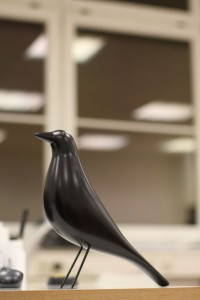 Eames House Bird: One of the principle sources of office noise