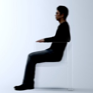 Invisible Chair by Ttokujin Yoshioka for Kartell
