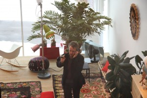 Ronan Bouroullec in the VitaHaus, Weil am Rhein