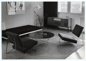 Strahlend Grau Herbert Hirche's contribution for the exhibition Interbau Berlin, 1957