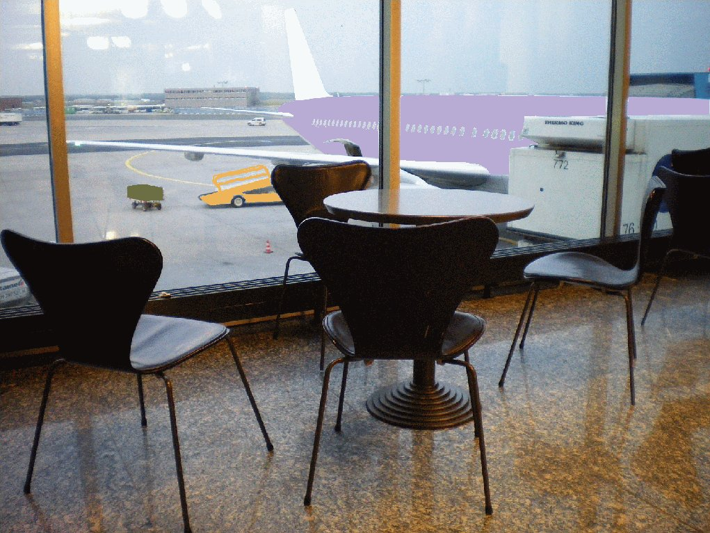 Seris 7 by  Arne Jacobsen for Fritz Hansen - and dreams of Braniff Airlines