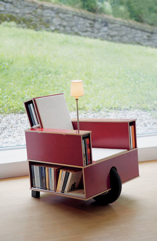 Bookinst by Nils Holger Moormann - a real designer car