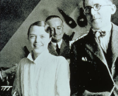 Charlotte Perriand with Le Corbusier und Pierre Jeanneret