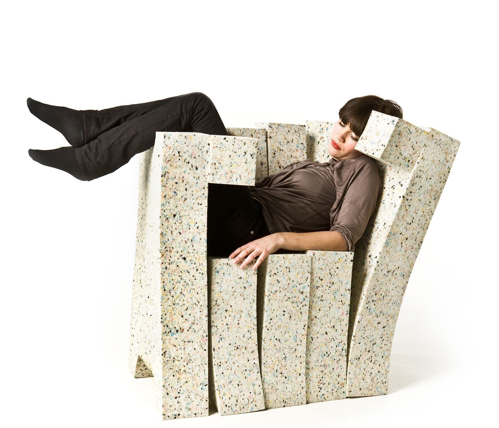 Foam soft pad chair by Stephan Schulz