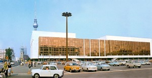 The Palast der Republik in Berlin opend in 1976. We suspect that was also the last year the UDK Berlin was renovated.