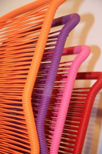 Tivoli Chair by Verner Panton through Montana: Colourful, but thats not why its good.