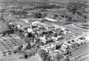 The Cranbrook Academy Campus, designed by Eliel Saarinen