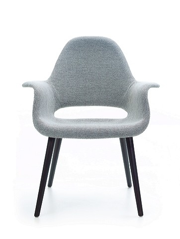 The Organic Chair by Charles Eames and Eero Saarinen through Vitra