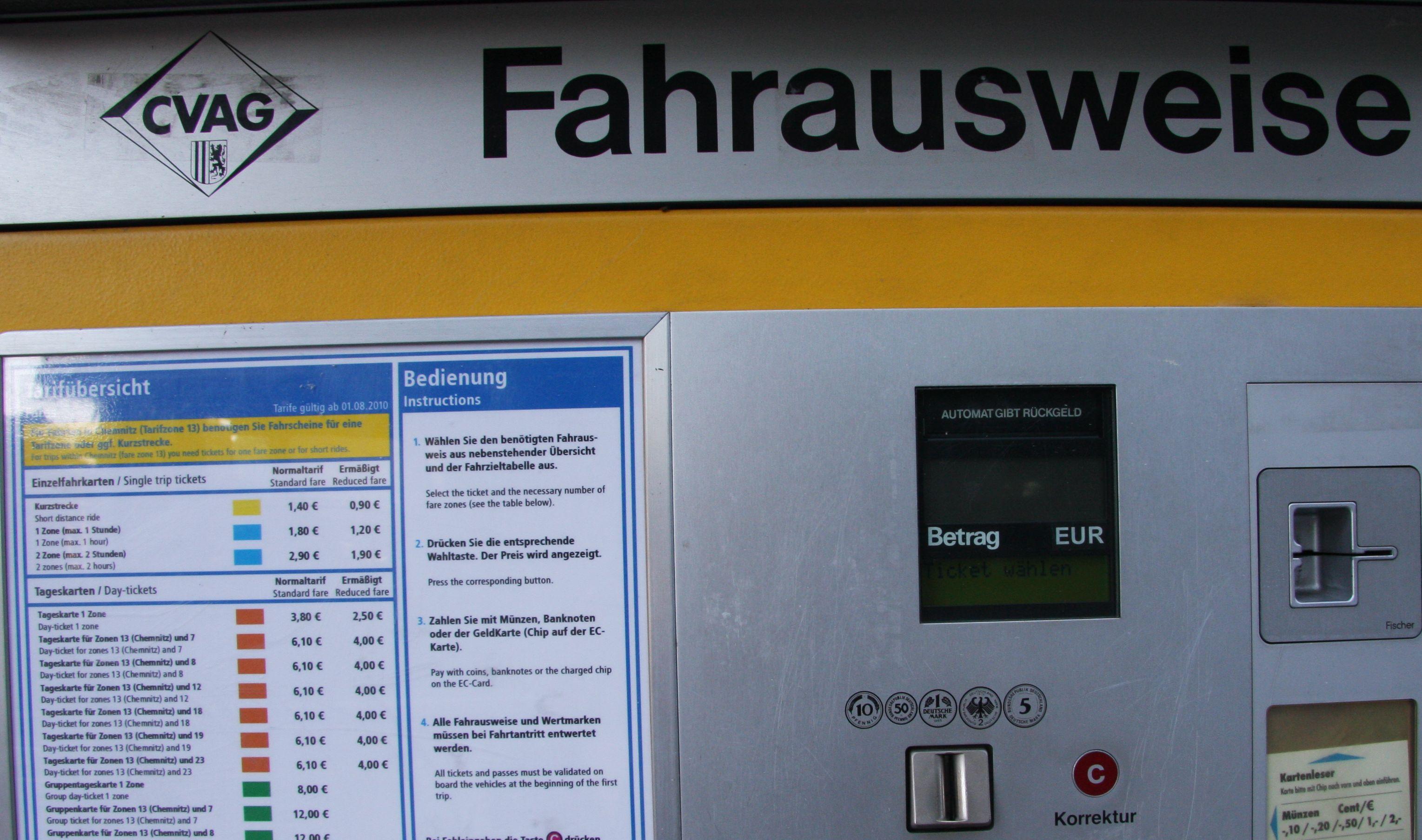 Wenn Chemnitz so modern und auf der Höhe der Zeit ist .... ?