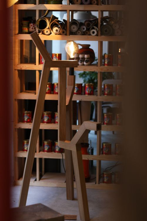 Dock Lamp by Manuel Netto @ Made Out Portugal, Dutch Design Week.