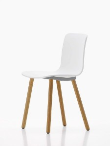 HAL by Jasper Morrison for Vitra, here with oak legs