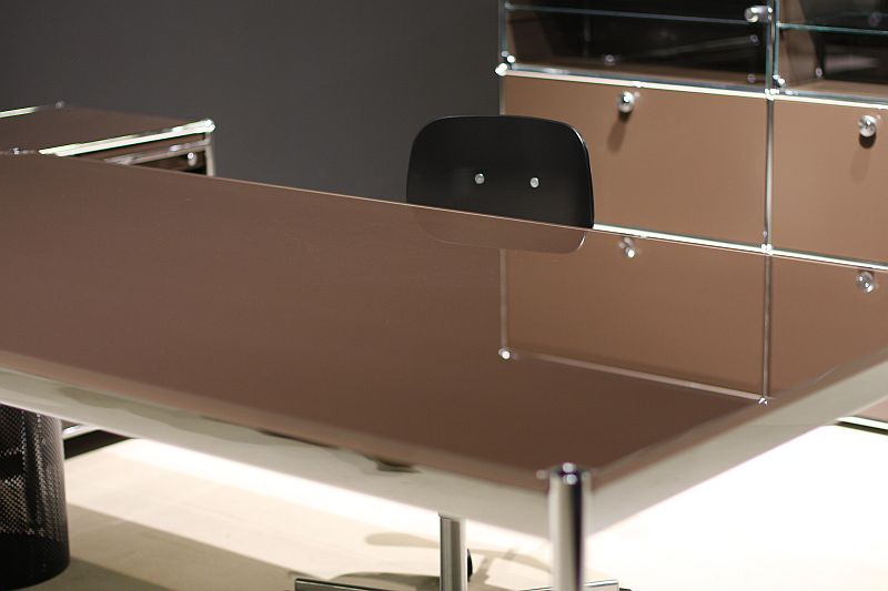 USM brown as seen at Orgatec 2010