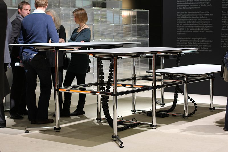 KITOS desk system by USM Haller at Orgatec 2010