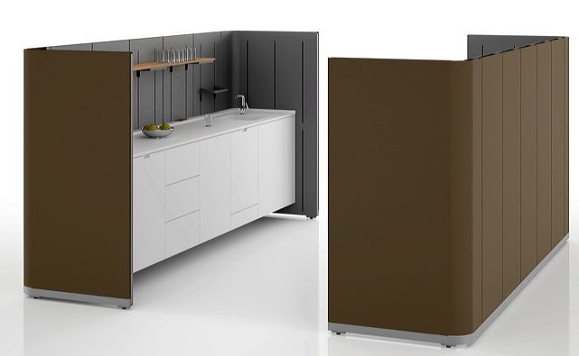 Communal Cells by Ronan and Erwan Bouroullec for Vitra - here as a kitchen