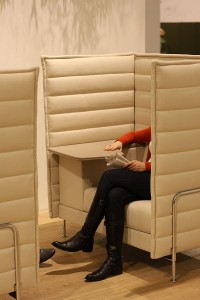 Alcove Work by Ronan and Erwan Bouroullec @ Orgatec 2010