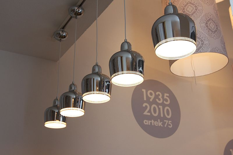Artek 75: The A 330s lamp by Alvar Aalto