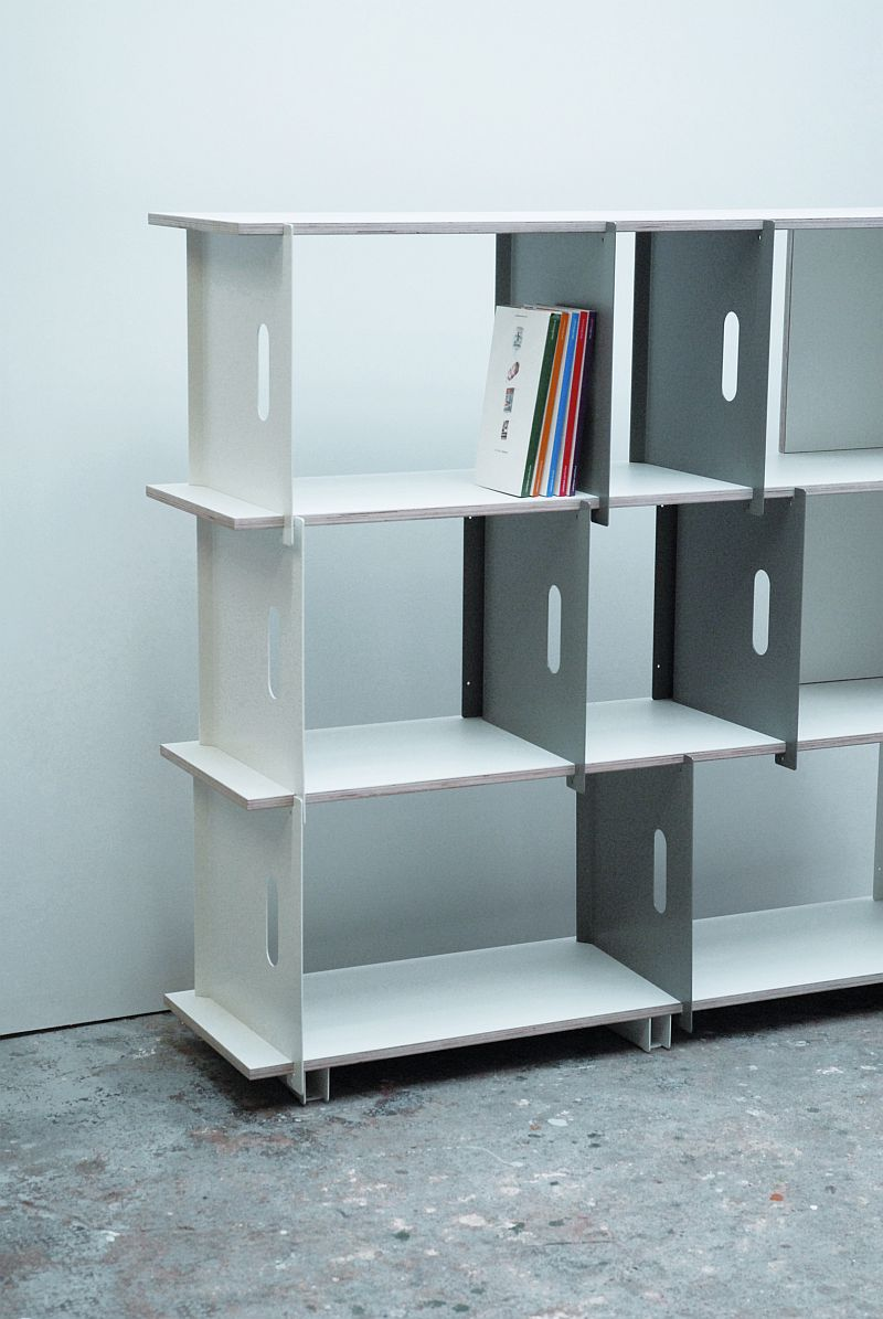 Grip shelving by Christian Lessing