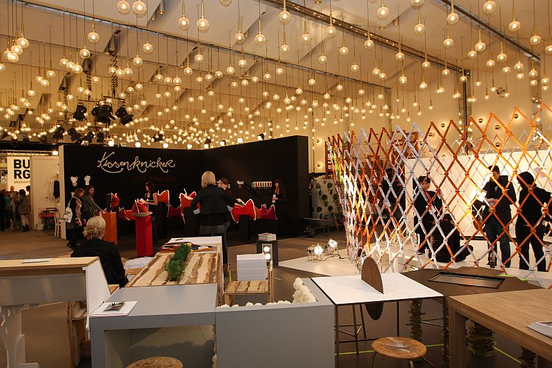 d3 Design Talents d3 Schools @ IMM Cologne. Genius lighting!