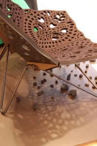 Prinz Stuhl von Louis Campbell für HAY design als Teil der Panton Ausstellung in Berlin