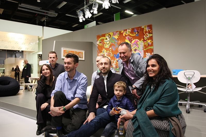 Richard Lampert and the Kids Only Collection designers
