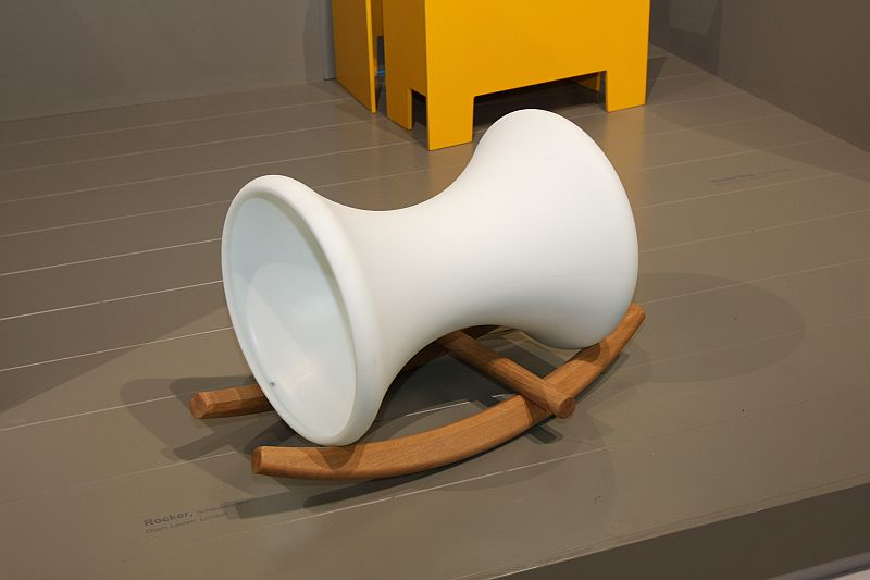 For us the highlight of the new Richard Lampert Kids Only collectionRocker by Doshi Levien, a