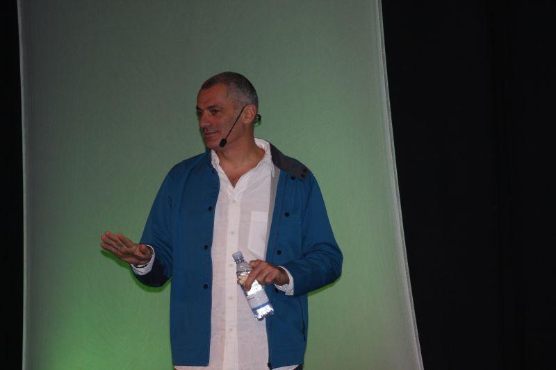 Part stand up comic, part designer part George Clooney: Arik Levy at Stockholm Furniture Fair