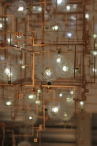 Fragile Future Chandelier 3.1 by Lonneke Gordijn & Ralph Nauta at Carpenters Workshop Gallery