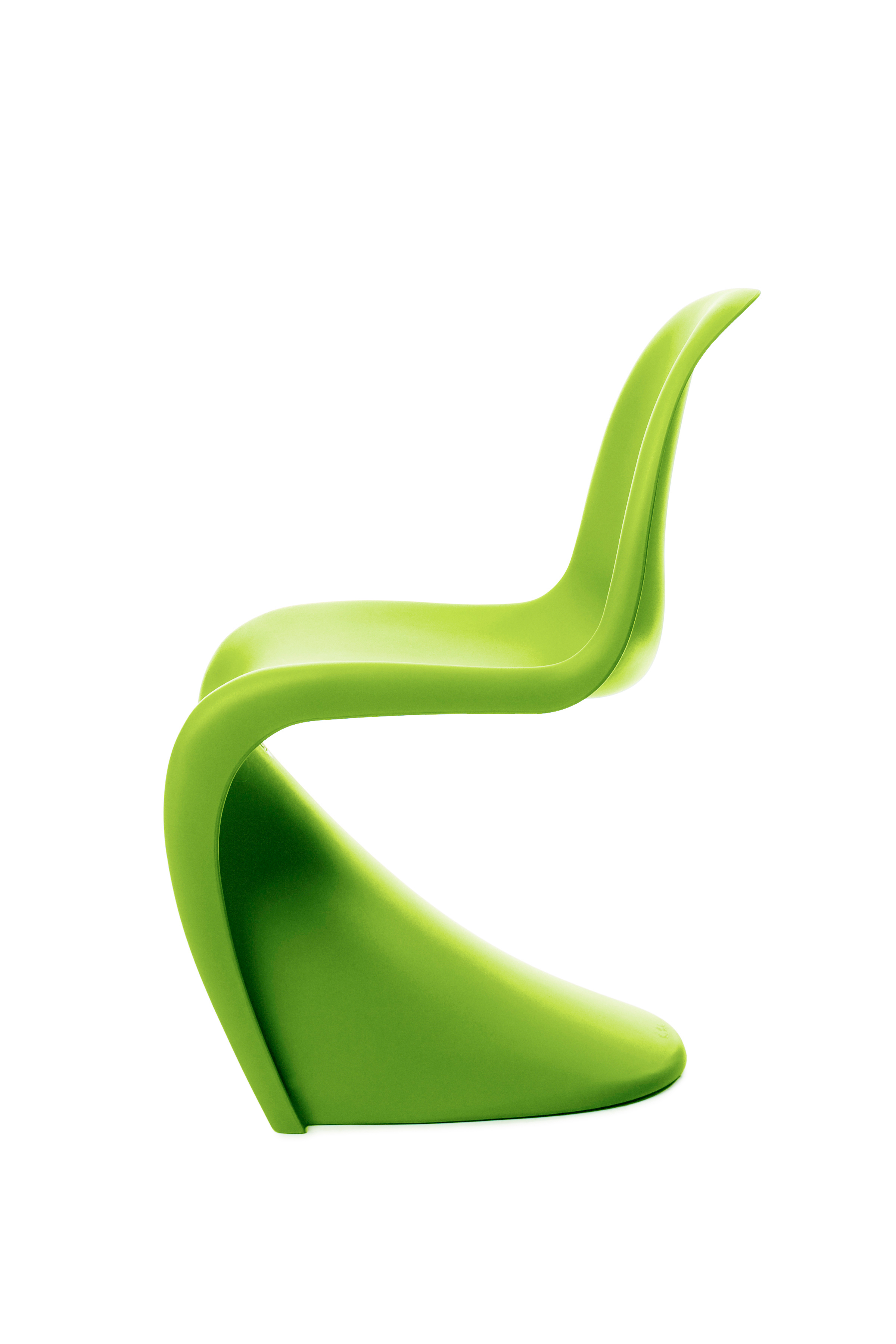 Summertime in dark lime Vitra Panton Chair Summer 2011 Edition