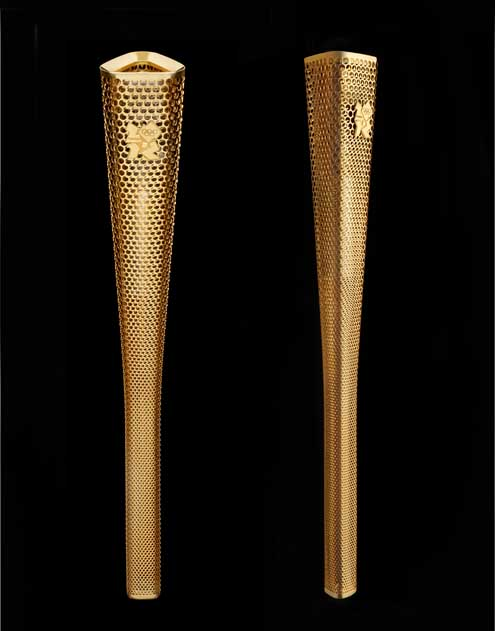 The London 2012 Olympic Torch by Barber Osgerby
