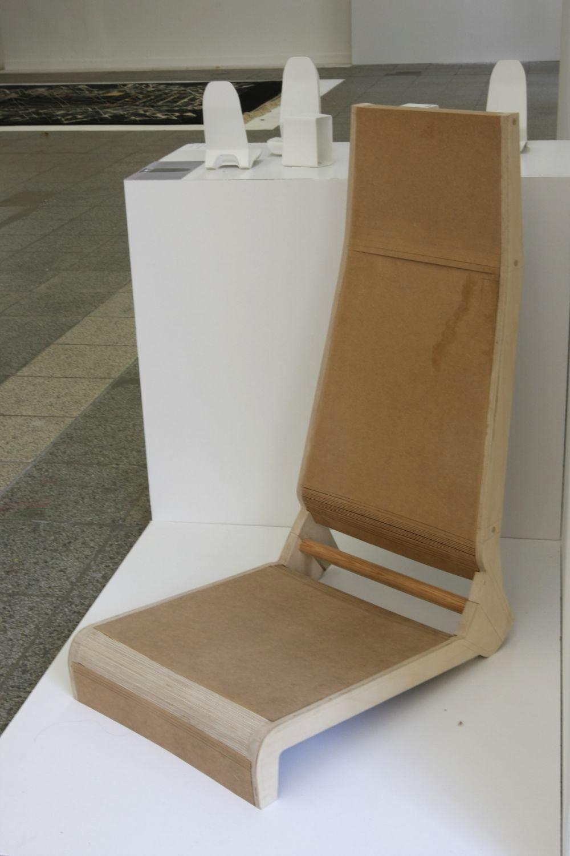 Seat/lounger from Eva Burkhardt Graduate Project @ kunsthochschule-berlin-weisensee