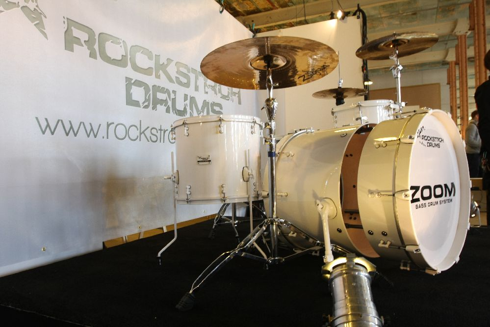 Designers' Open Leipzig Zoom Bass Drum System by Rockstroh Drums